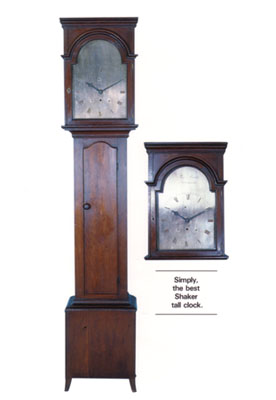 Rare Brother Thomas Corbett Shaker clock