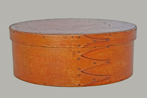 Orange Salmon Shaker box
